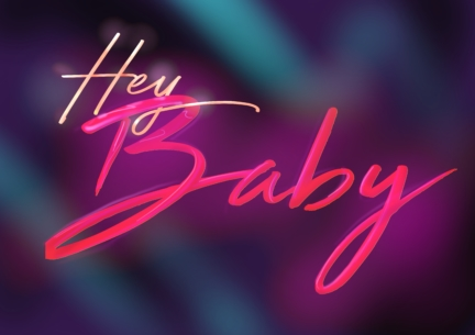 Hey Baby Logotype